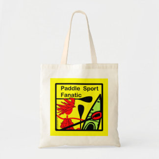 Paddle Sport Fanatic Fun Tote Bag
