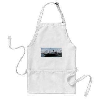 Paddle Steam Ship Adult Apron