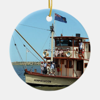 Paddle steamer, Australia 2 Ceramic Ornament