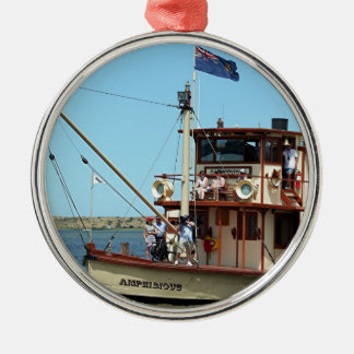 Paddle steamer, Australia 2 Metal Ornament