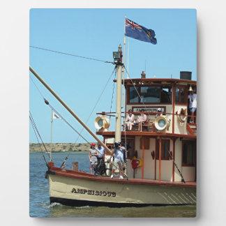 Paddle steamer, Australia 2 Plaques