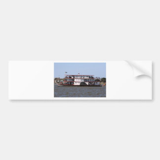 Paddle steamer, Australia 3 Car Bumper Sticker