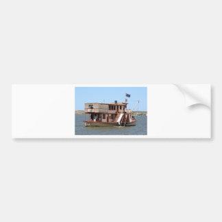 Paddle steamer, Australia Car Bumper Sticker