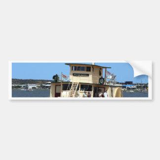 Paddle steamer, Goolwa, Australia Bumper Sticker