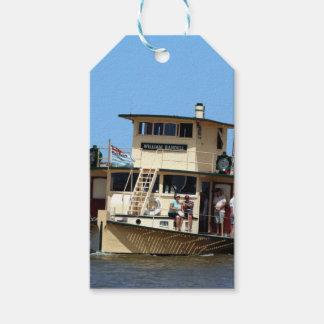 Paddle steamer, Goolwa, Australia Gift Tags