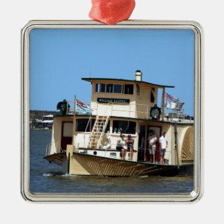 Paddle steamer, Goolwa, Australia Metal Ornament