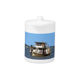 Paddle steamer, Goolwa, Australia Teapot