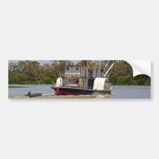 Paddle_Steamer,_Murray_River,_ Bumper Sticker