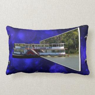 Paddle_Steamer,_Popout_Art,_ Lumbar Pillow