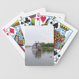 Paddle Steamer Southern Comfort Bicycle Playing Cards