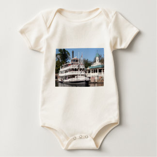 Paddle steamer, USA Baby Bodysuit