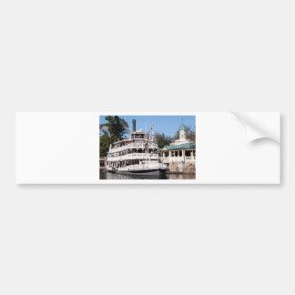Paddle steamer, USA Car Bumper Sticker