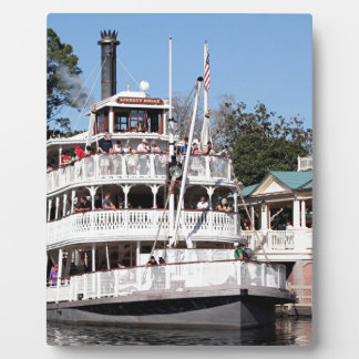 Paddle steamer, USA Plaques