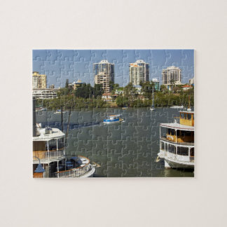 Paddle Steamers, Brisbane River, Brisbane, Jigsaw Puzzle