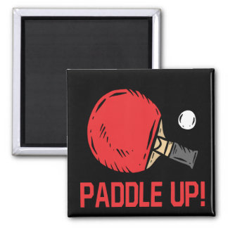 Paddle Up 2 Inch Square Magnet
