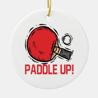 Paddle Up Ceramic Ornament
