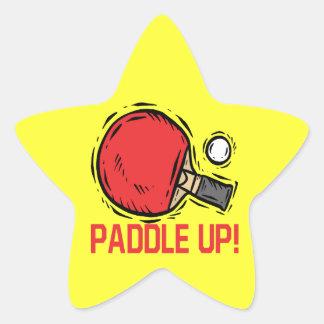 Paddle Up Star Sticker