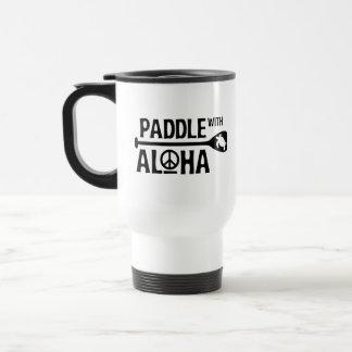 Paddle with Aloha 15 oz Travel Dawn Patrol Mug
