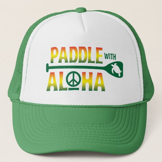 Paddle with Aloha Reggae Trucker Hat