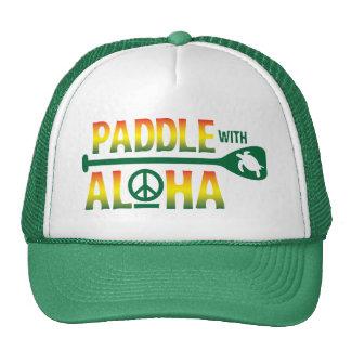 Paddle with Aloha Reggae Trucker Hat
