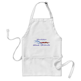 Paddle With Friends Adult Apron