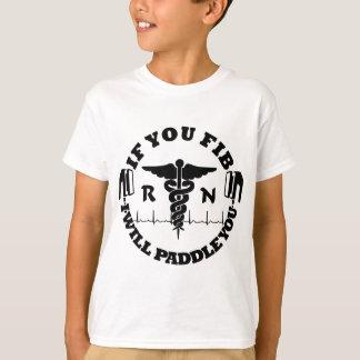 Paddle You Shock You Nurse Afib T-Shirt