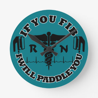 Paddle You Shock You Registered Nurse Round Clock