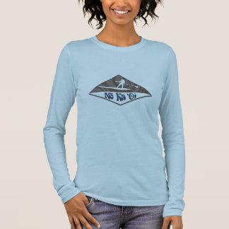 Paddleboard Wahine Long Sleeve T-Shirt