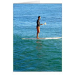 Paddleboarding Greeting Cards