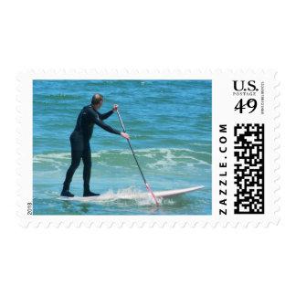 Paddleboarding Stamp