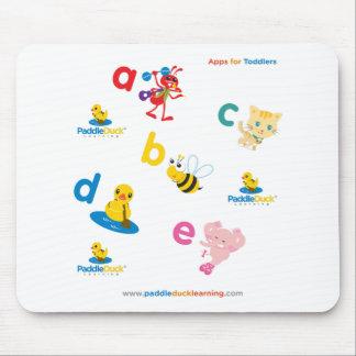 PaddleDuck-Mousepad Alfombrillas De Ratón