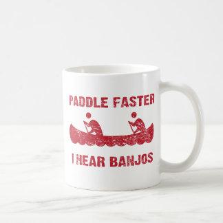 PaddleFaster Deliverance Classic White Coffee Mug