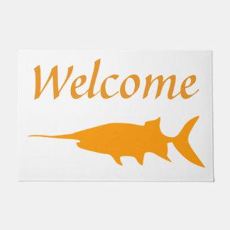 Paddlefish agradable felpudo