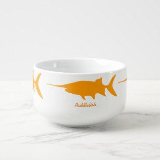 Paddlefish Cuenco Para Sopa