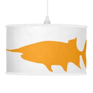 Paddlefish Lámpara De Techo