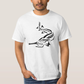 Paddlefish y Rostrum tribales Remeras