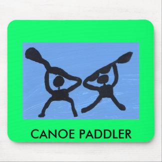 PADDLER DE LA CANOA MOUSEPAD