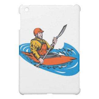 paddler del kajak que bate la canoa kayaking
