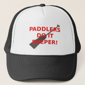 Paddlers Do It Deeper Cap