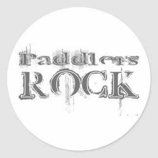 Paddlers Rock Stickers