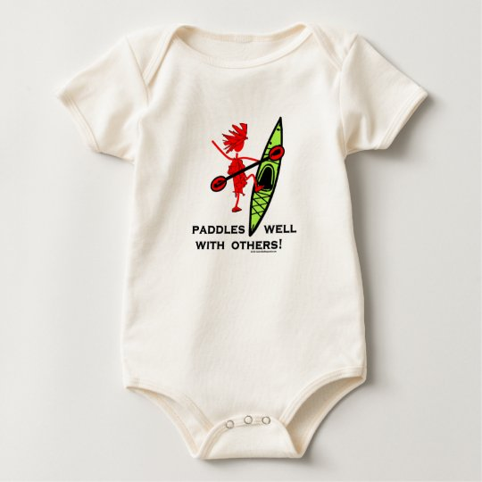 Paddles Well With Other Baby Bodysuit