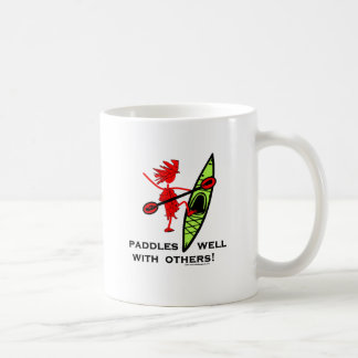 Paddles Well With Other Coffee Mug