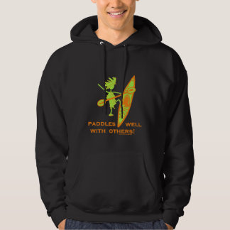 Paddles Well With Other Hooded Sweatshirt