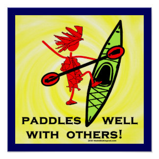 Paddles Well With Other Print