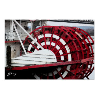 Paddlewheel Poster