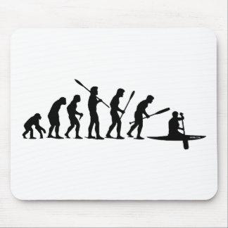 Paddling Evolution (C1) Mouse Pad