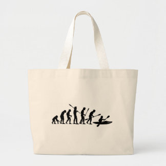 Paddling Evolution (kayak) Canvas Bag