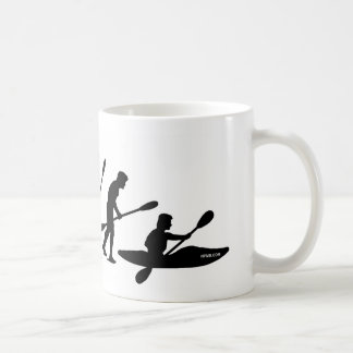 Paddling Evolution (kayak) Coffee Mug