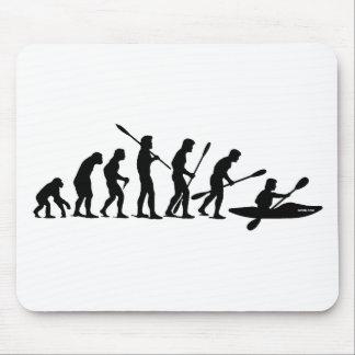 Paddling Evolution (kayak) Mouse Pad