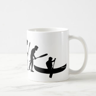 Paddling Evolution (OC1) Coffee Mug